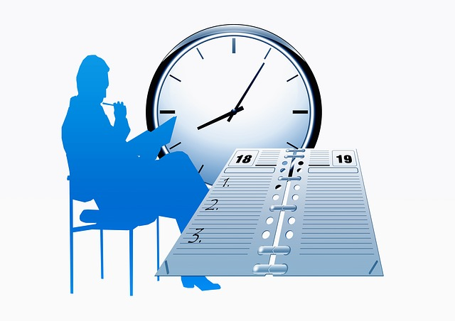 Clock, Time, Calendar, Agenda, Schedule, Office, Human