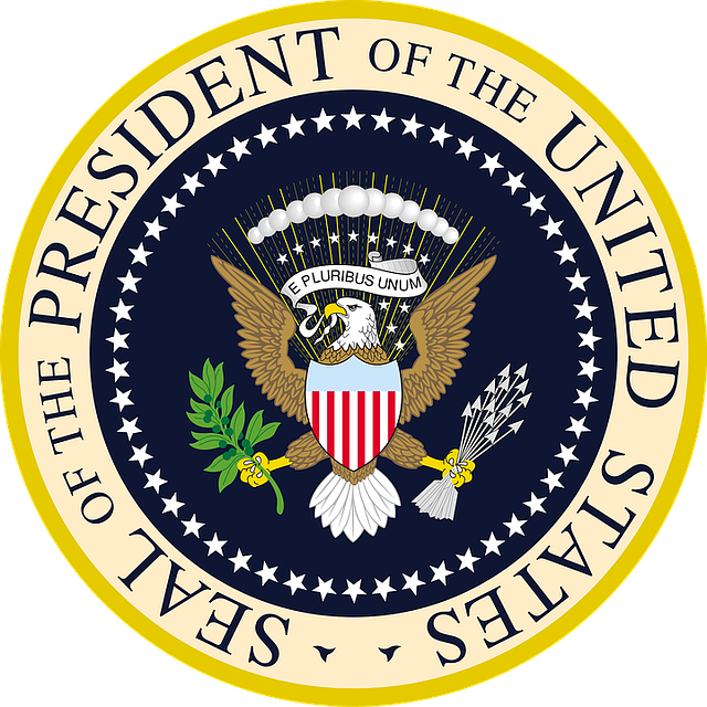 Seal President Of The United States, Official Crest