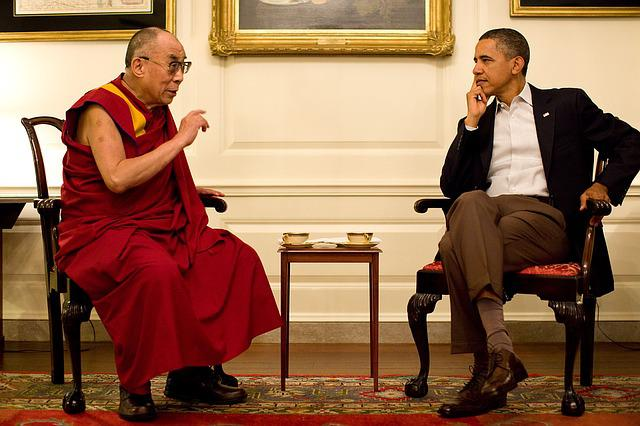 Barack Obama, Dalai Lama, 2011, Official Photo