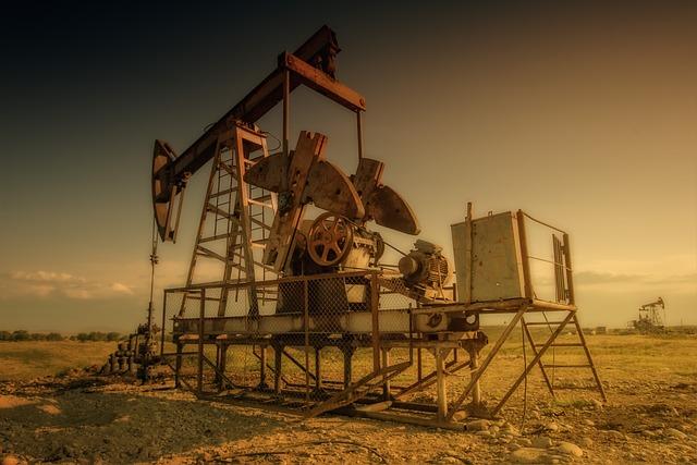 Oil Rig, Industry, Old, Field, Oil Industry, Oil Pump
