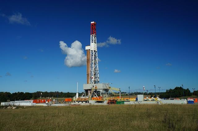 Gas, Oil Rig, Drilling Rig
