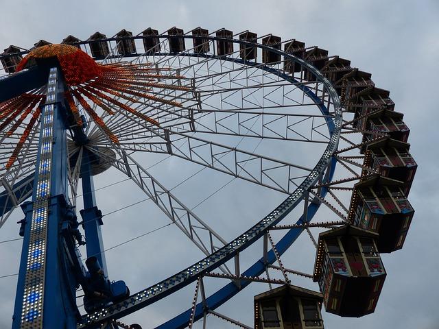 Ferris Wheel, Oktoberfest, Munich, Ride, Folk Festival