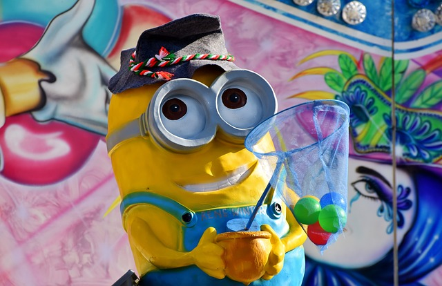 Minions, Animation, Figure, Yellow, Film, Oktoberfest