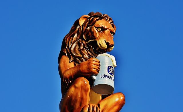 Löwenbräu, Oktoberfest, Beer, Brewery, Lion, Munich