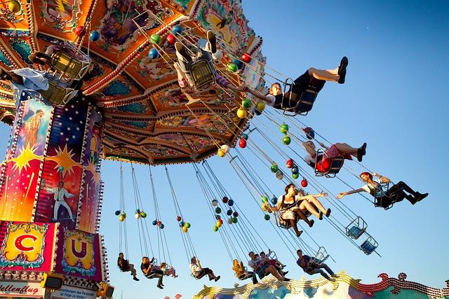 Munich, Oktoberfest, Ride, Carousel, Fun