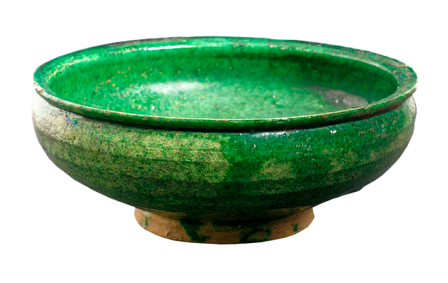 Antique, Old, Ancient, Bowl, Syria, 13th Century