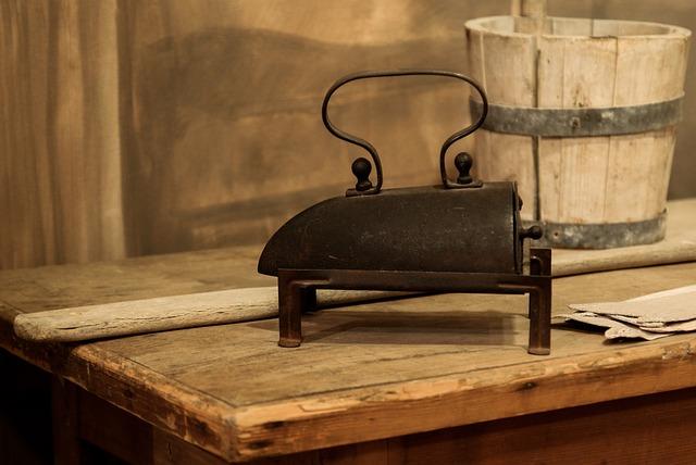 Iron, Old, Antique