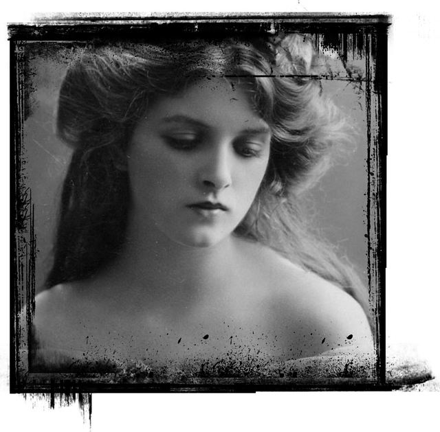Lady, Photo, Vintage, Romantic, Old, Antique