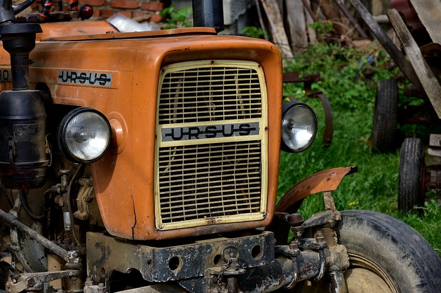 The Vehicle, Old, Transport, Antique, Car, Tractor