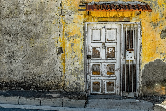 Door, Architecture, Old, Entrance, Wall, Grungy, Aged