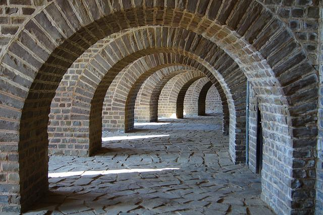 Arch, Round Arch, Arches, Building, Architecture, Old