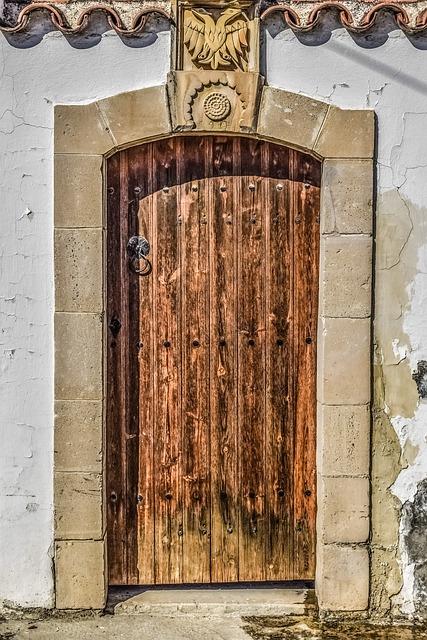 Door, Architecture, Old, Wood, Entrance, House, Doorway