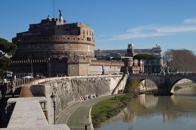 Architecture, Travel, The Palace, City, Old, Rome