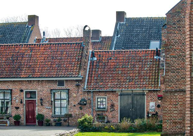 House, Roof, Architecture, Old, Brick, Facade