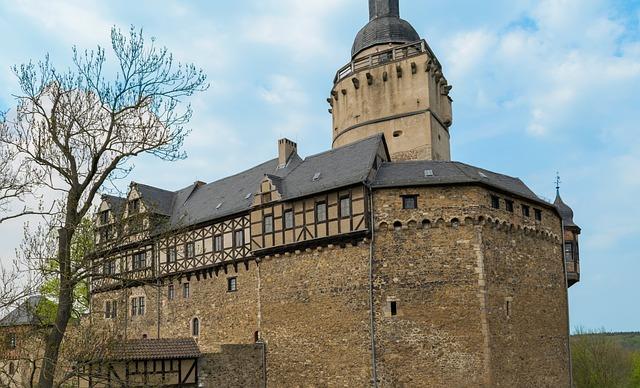Architecture, Castle Falkenstein, Old, Travel