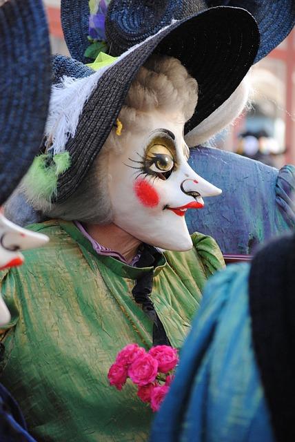 Mask, Old Aunt, Carnival, Basler Fasnacht 2015