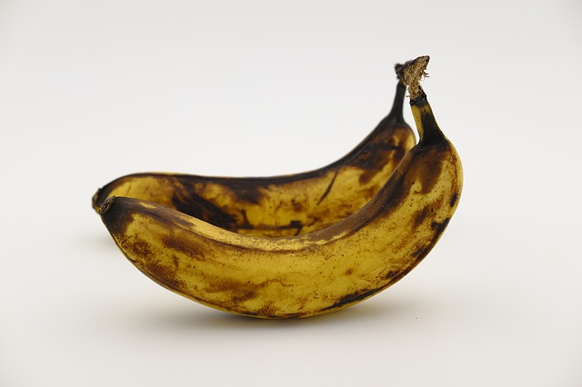 Banana, Old, Aged, Age, Scruffy, Transient, Transience