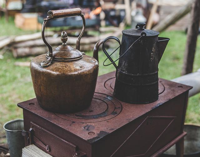 Blur, Close-up, Container, Kettle, Metal, Old, Outdoor