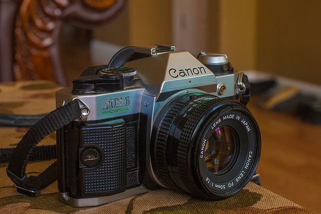 Camera, Old, Bokeh, Film, 50mm, Film Camera