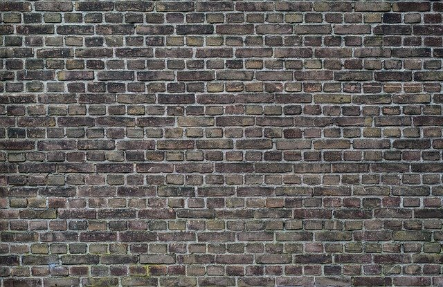 Brick, Wall, Old, Dark, Brick Wall
