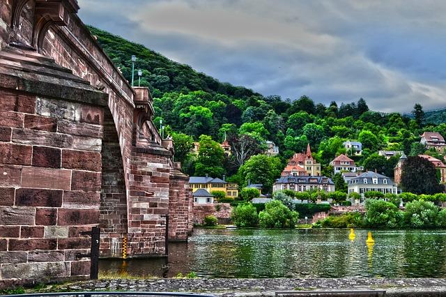 Heidelberg, Bridge, Neckar, Old Bridge, Old Town