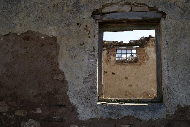 Old Window, Ruins, Window, Abandonment, Old Building