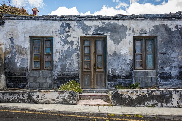 Old House, Building, Old Building, Leave, Lapsed