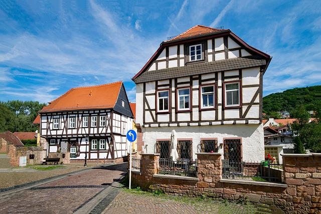 Gelnhausen, Hesse, Germany, Old Building