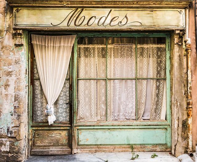 Showcase, Mode, Fashion Store, Shop, Old Building