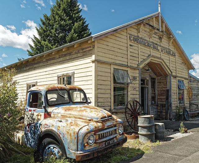 New Zealand, Murchison, South Island, Building, Old