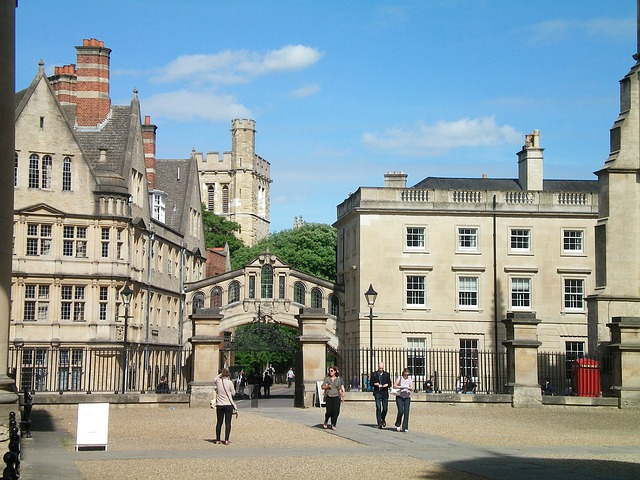 Oxford, England, Buildings, Regi, Old Buildings, Ter