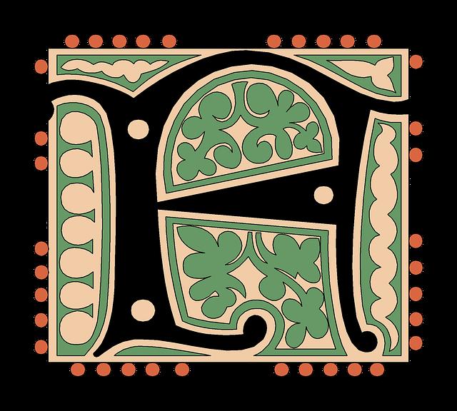 F, Alphabet, Vintage, Letter, Old, Antique, Calligraphy