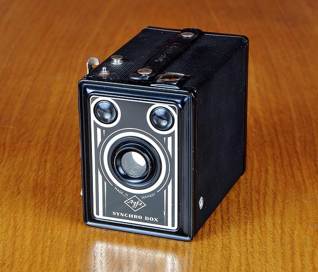 Camera, Old Camera, Agfa, Camera Block