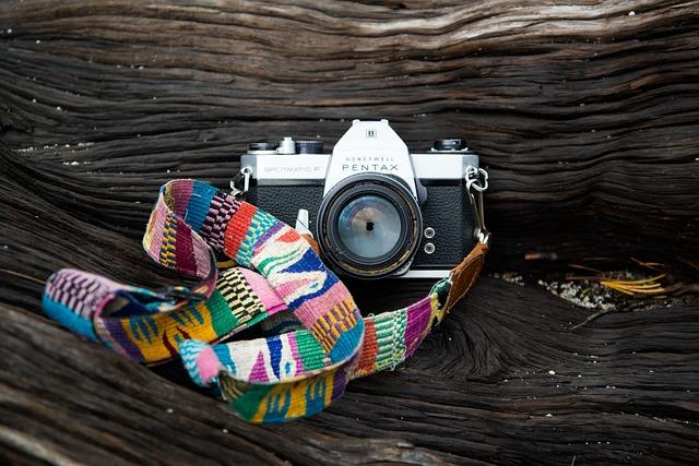 Camera, Vintage, Old, Pentax