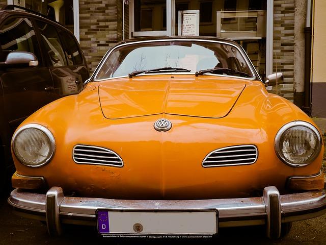 Auto, Karmann Chia, Karmann, Old, Oldtimer, Classic