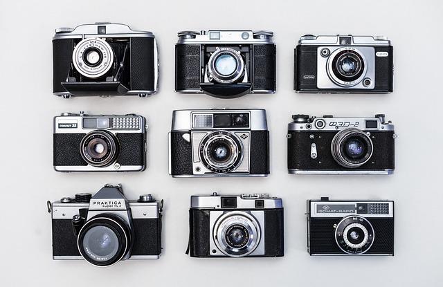 Old, Retro, Cameras, Film, Vintage, Classic