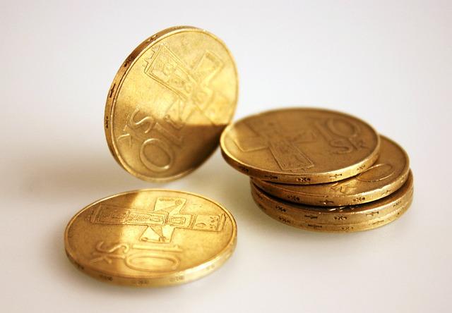 Old Coins, Slovak, Gold