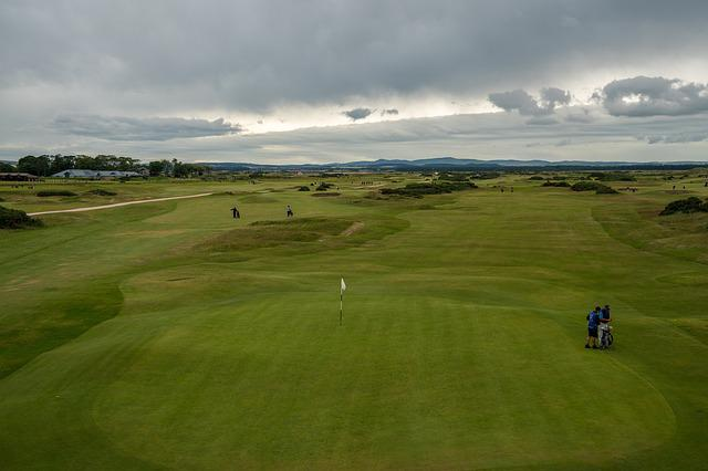 St Andrews, The Old Course, Old Course, Grass, Golf