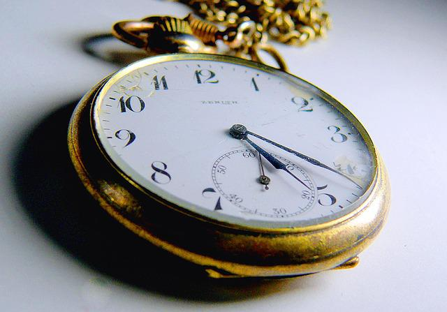 Clock, Pocket Watch, Digits, Time, Old, Nostalgia