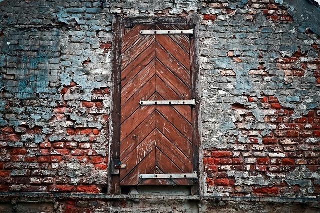 Lost Places, Building, Old, Stone, Brick, Door