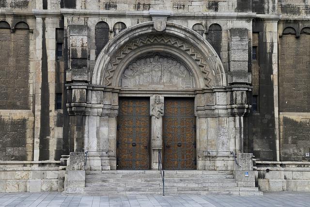 Church Portal, Church Door, Fitting, Input, Old Door