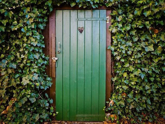 Door, Toilet Door, Peace And Quiet, Old Door, Wood