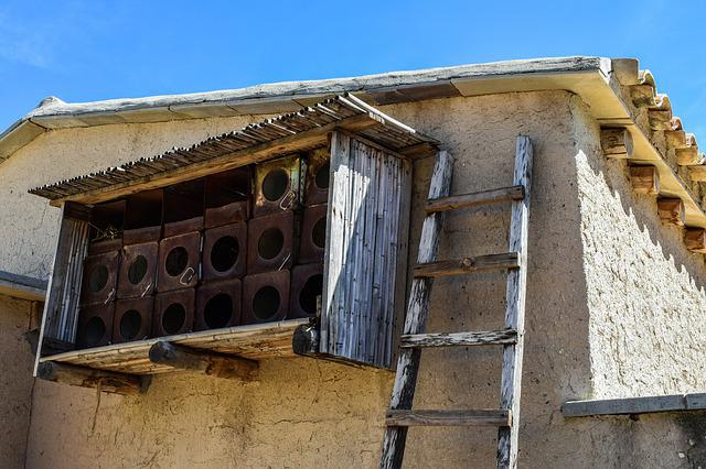 Pigeon House, Dove Cot, Architecture, Old, Traditional