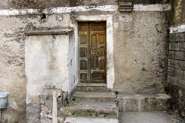 Decay, Time, Run-down, Door, End, Old, Casa Antica
