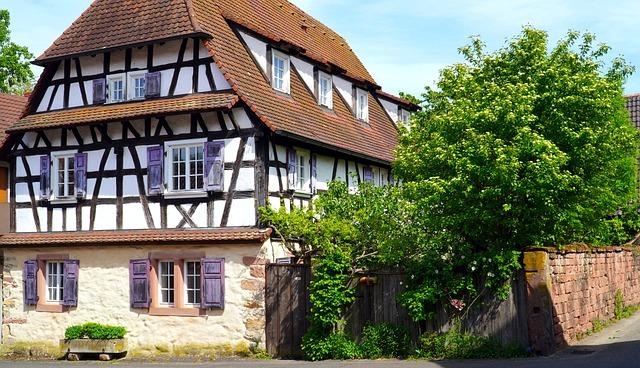 Truss, Fachwerkhaus, Historically, Old, Architecture