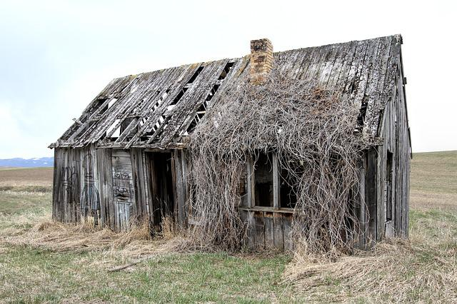 Old Farm House, Decay, Home, Farm, Architecture, Rural