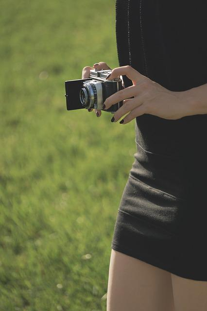 Zeiss, Woman, Camera, Young Woman, Female Model, Old