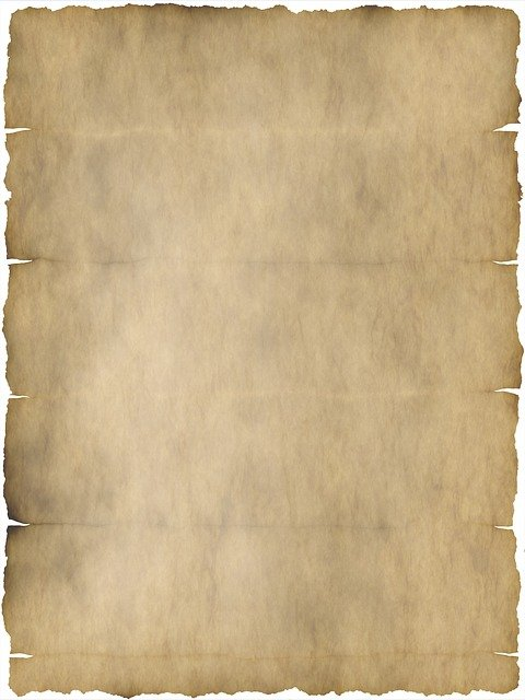 free photo template parchment old map border scroll paper - max pixel, Powerpoint templates