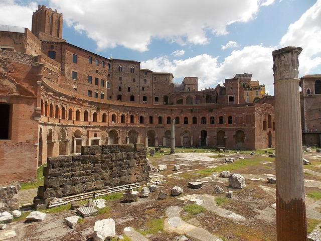 Forum Romanum, Rome, Old, Landmark, Architecture