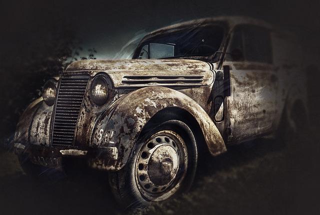 Auto, Renault Juvaquatre, Old, Rarity, France